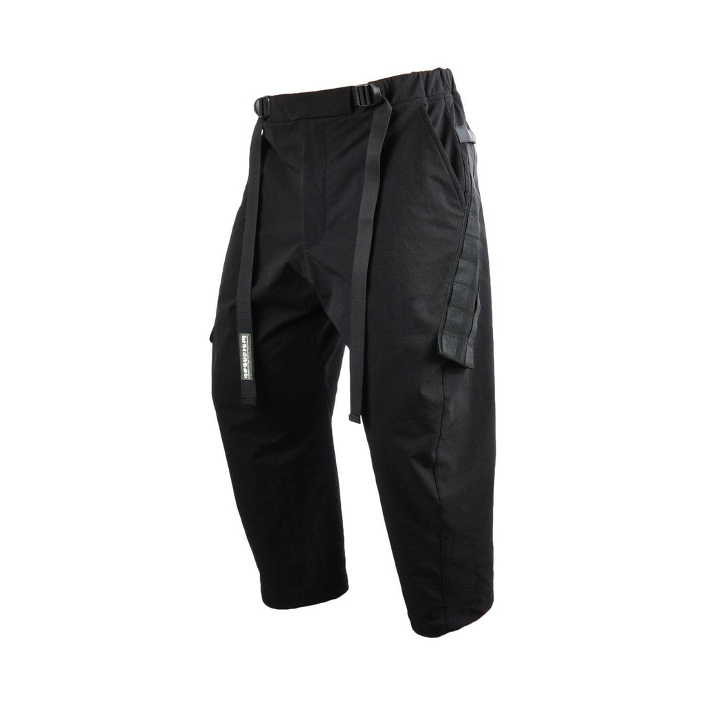 NS-23 Cropped Trousers - Aesthetic Homage  | Techwear | Noragi | Lhamo | Men's Kimono