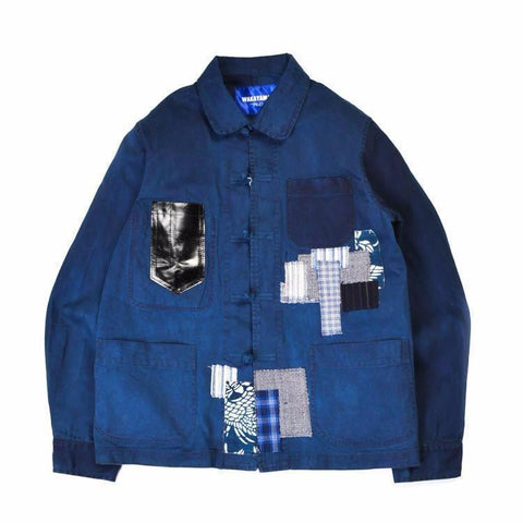 Boro Chinese Work Jacket - Aesthetic Homage | Noragi | Lhamo