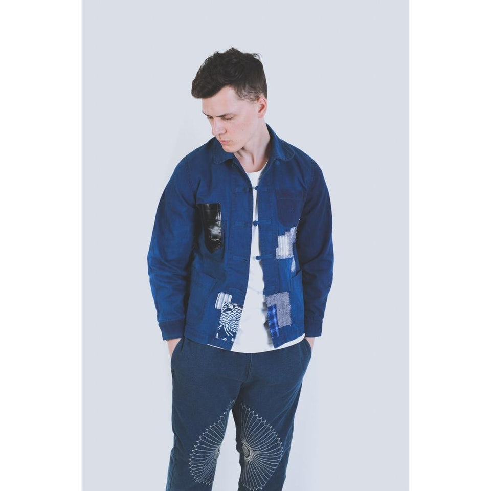 Boro Chinese Work Jacket - Aesthetic Homage