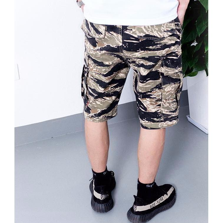 Tiger Camo BDU Shorts - Aesthetic Homage