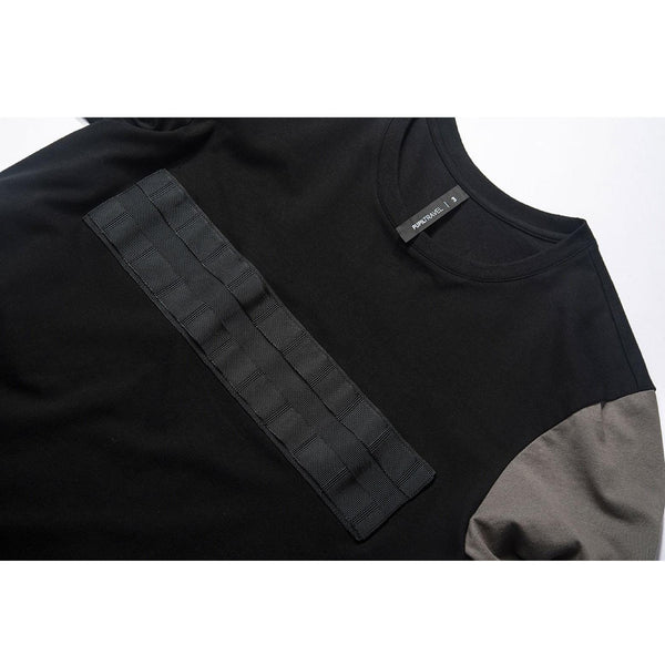 PTI-814 Tactical Shirt - Aesthetic Homage  | Techwear | Noragi | Lhamo | Men's Kimono