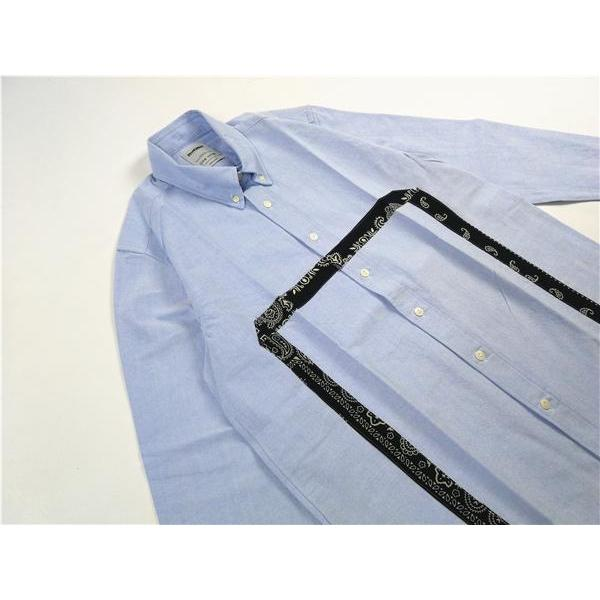 Bandana Square Oxford Shirt - Aesthetic Homage