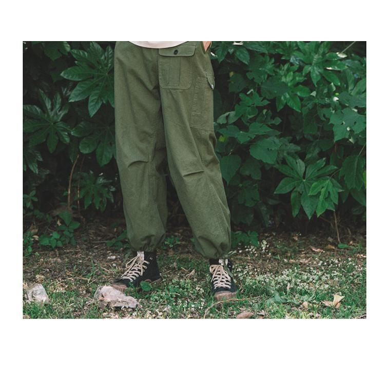 Multi Pocket Swamp Pants - Aesthetic Homage  | Techwear | Noragi | Lhamo | Men's Kimono