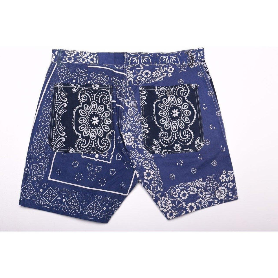Bandana Patchwork Shorts - Aesthetic Homage