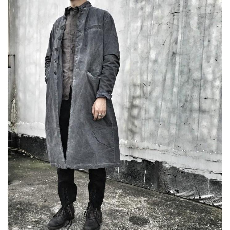 Officer Jacket - Aesthetic Homage  | Techwear | Noragi | Lhamo | Men's Kimono