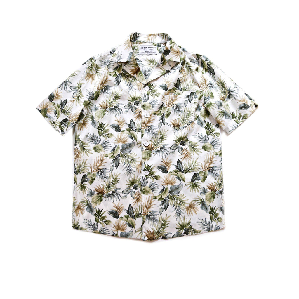Palm Leaf Hawaiian Shirt - Aesthetic Homage | Noragi | Lhamo