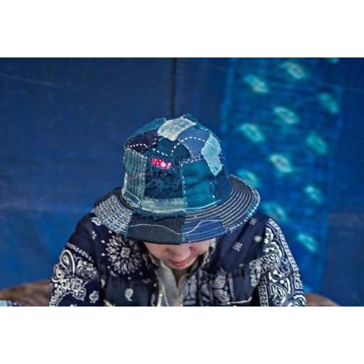 Boro Fisherman Hat - Aesthetic Homage  | Techwear | Noragi | Lhamo | Men's Kimono