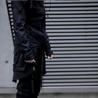 FOG-S00 Slide Bag - Aesthetic Homage  | Techwear | Noragi | Lhamo | Men's Kimono