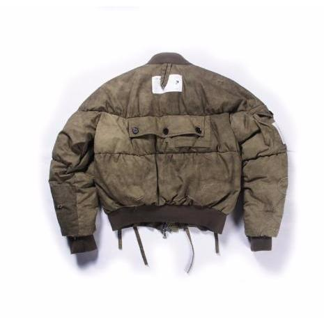 Washed Heavy MA-1 Jacket - Aesthetic Homage