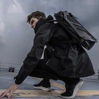 UBC-15 Hyper Backpack - Aesthetic Homage  | Techwear | Noragi | Lhamo | Men's Kimono