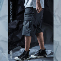 Concealer Tactical Shorts - Aesthetic Homage  | Techwear | Noragi | Lhamo | Men's Kimono
