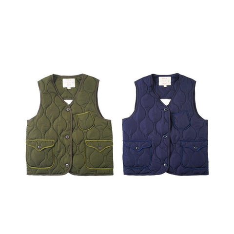 Quilted Vest - Aesthetic Homage | Noragi | Lhamo