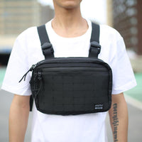 Tactical Chest Rig - Aesthetic Homage  | Techwear | Noragi | Lhamo | Men's Kimono