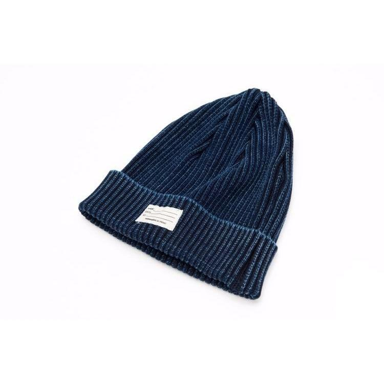 Indigo Knitted Hat - Aesthetic Homage | Noragi | Lhamo