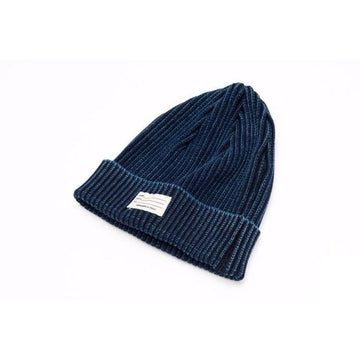 Indigo Knitted Hat