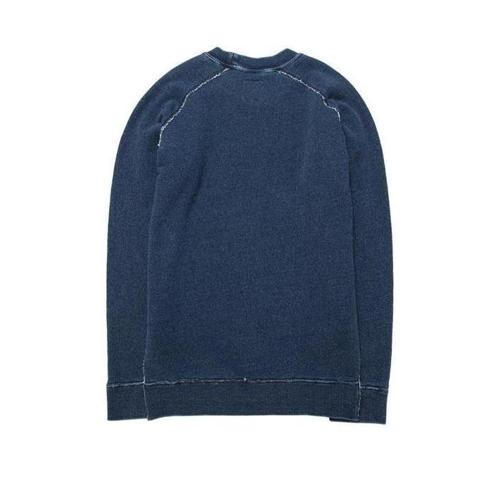 Indigo Pull Over - Aesthetic Homage