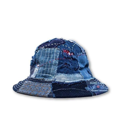 Boro Fisherman Hat - Aesthetic Homage | Noragi | Lhamo