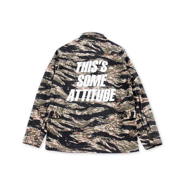 Tiger Camo Jacket - Aesthetic Homage