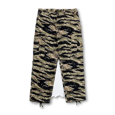 Tiger Camo Cargo Pants in  - Aesthetic Homage