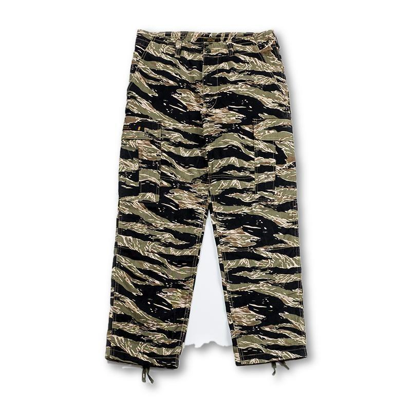 Tiger Camo Cargo Pants - Aesthetic Homage