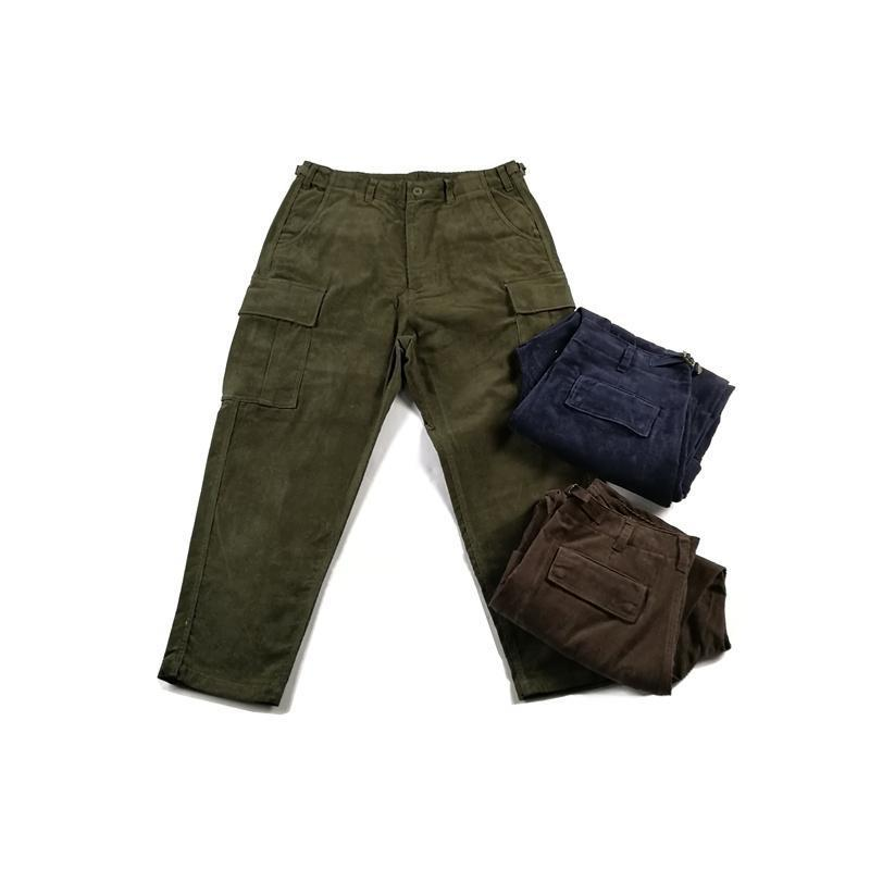 Corduroy Cargo Pants - Aesthetic Homage
