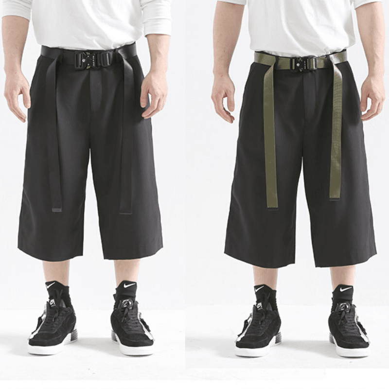 Nylon Cobra Belt - Aesthetic Homage  | Techwear | Noragi | Lhamo | Men's Kimono