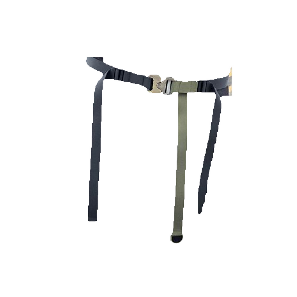 Two-Tone Cobra Belt - Aesthetic Homage  | Techwear | Noragi | Lhamo | Men's Kimono