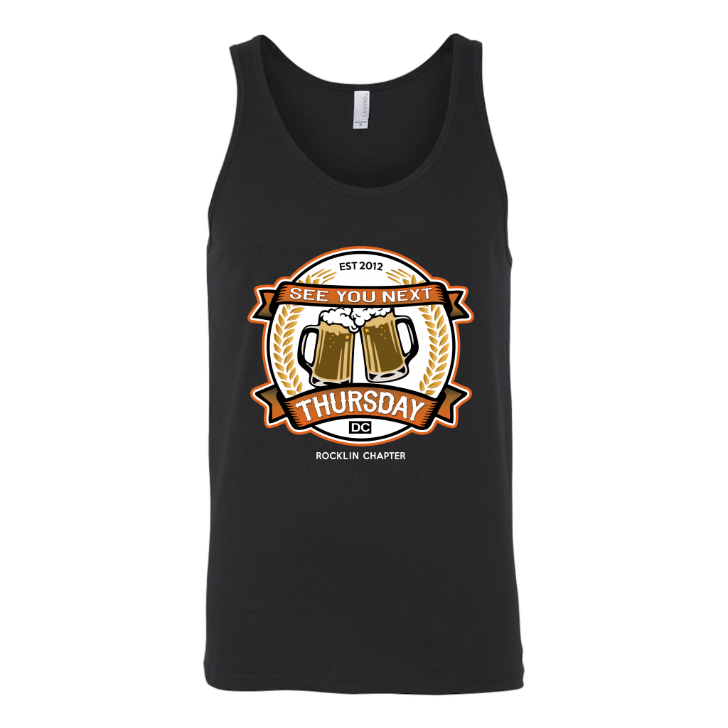 See You Next Thursday Mugs Tank Top