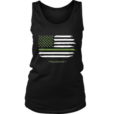 Thin Green Line Women's Tank
