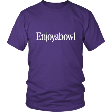 ENJOYABOWL TEE (Dark Colors)
