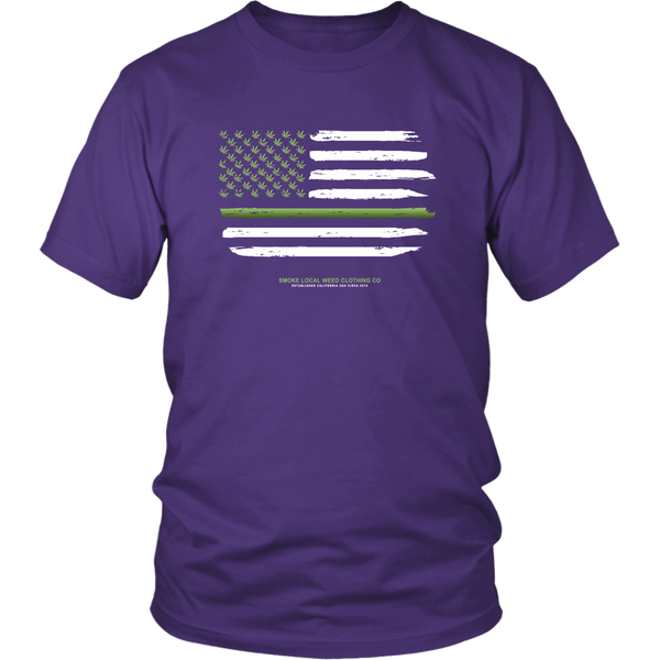 Thin Green Line Tee (Dark Colors)