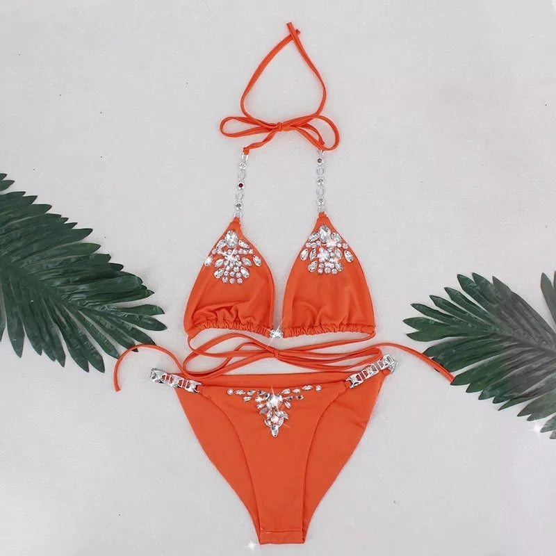 JRB Two Piece Bikini in Orange