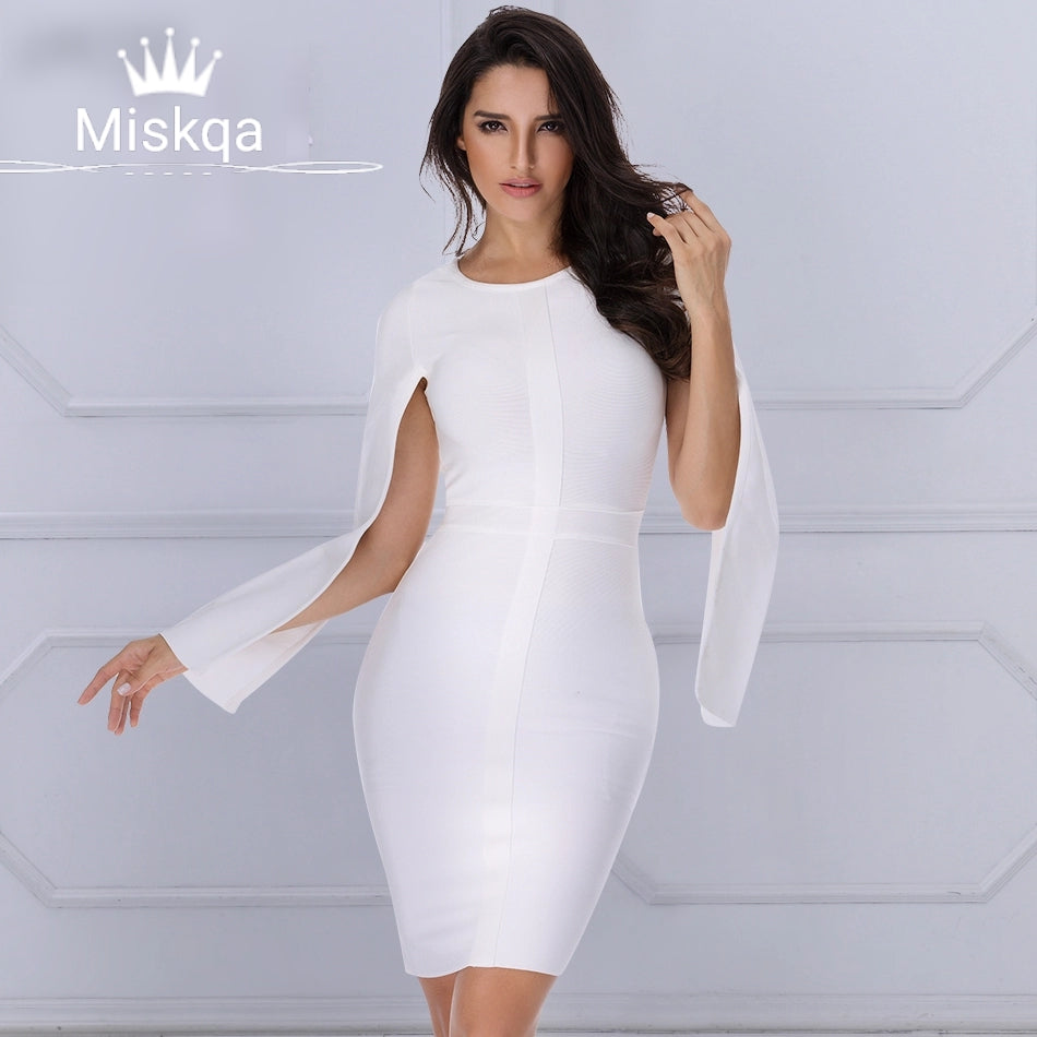 Thalia Split Sleeve Dress