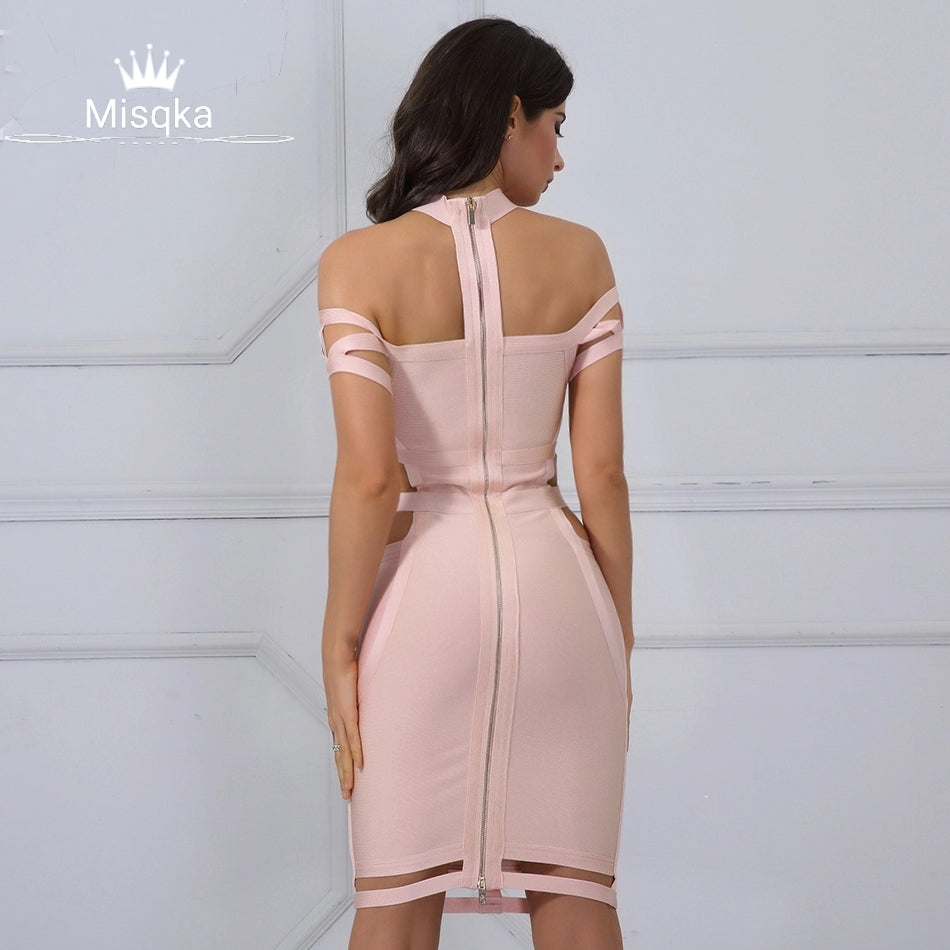 Bad GRL Bandage Dress