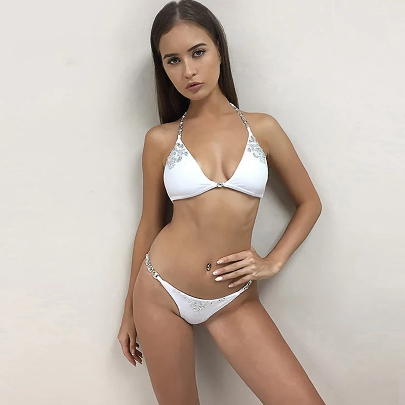 JRB Two Piece Bikini in White