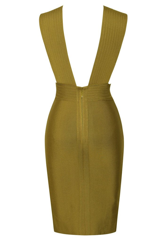 Ashley Cut Out Sides Bandage Dress