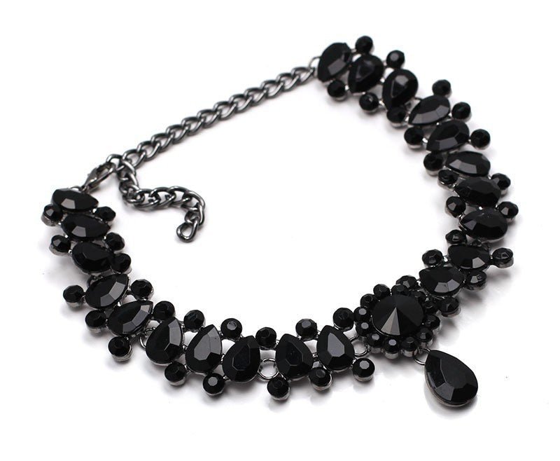 AVA Black Choker Necklace
