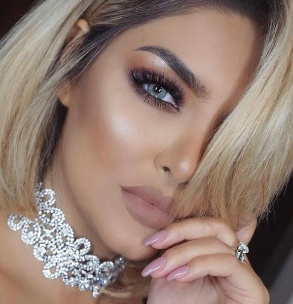 KYLIE Silver Choker Necklace