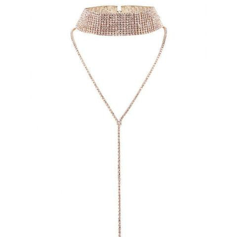 SLAY Gold Choker Necklace