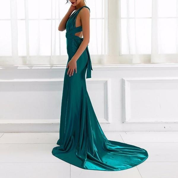 Red Carpet Emerald Dress