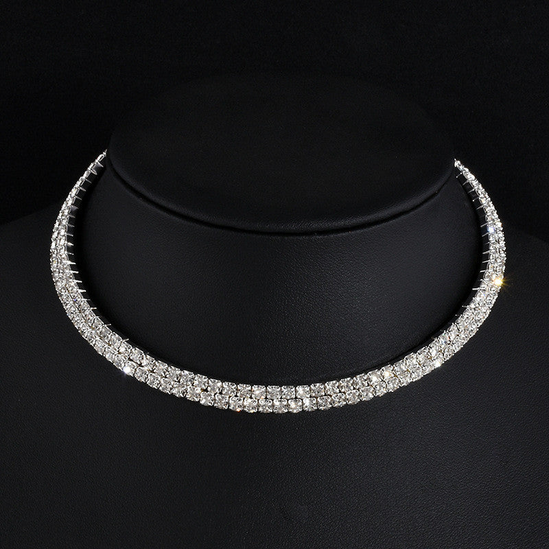 Cleopatra 2 Row Choker Necklace