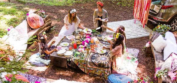 Bohemian Bridal Shower Theme