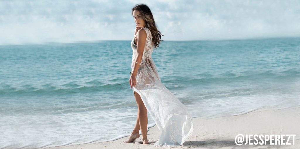 Lace Honeymoon Beach Coverup