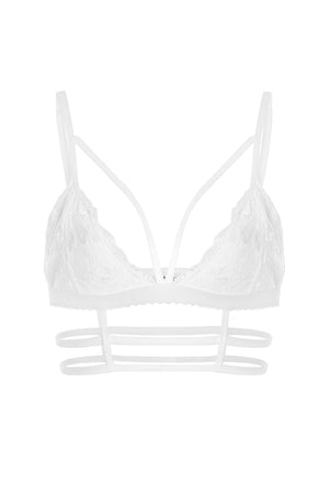 Caged Bralette - White