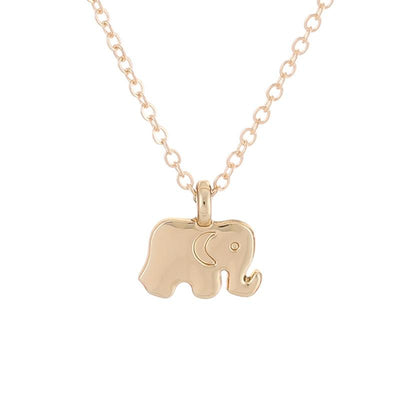 "3 Dimensional  ""Good luck"" Elephant Charm - Little Palace Store"