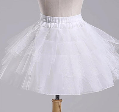 3 Layers Hoopless Petticoat - Little Palace Store