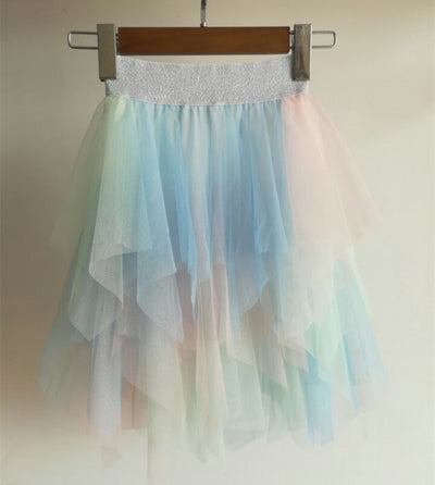 Mother Daughter Matching Tutu Lace Skirt