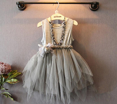 Alice Lace Party Dress - Little Palace Store