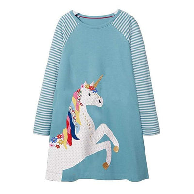 Amelia's Unicorn Dress - Little Palace Store