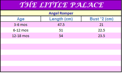 Angel Romper - Little Palace Store